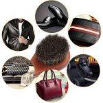5pcs Brosses à Chaussures,Chaussures Polonaises Brosses, Soins Crin de Cheval Nettoyer Daubers Brosse pour Cuir Chaussures Sacs de la marque Coolty image 1 produit