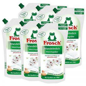 6 x le litre grenouille lait d'amande adoucisseur Toilettage avec lait d'amande de la marque Frosch image 0 produit