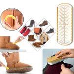AlgaMarina Brosses à chaussures Ensemble de Brosse d'entretien des Chaussures Multifonctionnel pour Chaussures, Cuir Nubuck, Suédé, Siège de Voiture et Meubles de la marque AlgaMarina image 3 produit