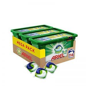 Ariel 3en1 Pods Ecodoses Original - Lessive Doses - 114 lavages (pack de 3x38 capsules) de la marque ARIEL image 0 produit