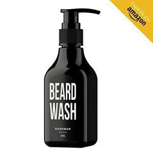 BARBMAN : Shampoing à Barbe (200ml) au Bois de Santal, nettoie visage et barbe en profondeur au quotidien, Cadeau idéal pour homme Barbu. de la marque Barbman image 0 produit