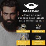 BARBMAN : Shampoing à Barbe (200ml) au Bois de Santal, nettoie visage et barbe en profondeur au quotidien, Cadeau idéal pour homme Barbu. de la marque Barbman image 4 produit