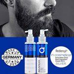 Beardix – Accélérateur de pousse de barbe | Principe actif primé | FABRIQUE EN ALLEMAGNE | 100ml de spray hautement dosé | Pour une barbe dense et saine de la marque BOLD BEARDIX image 2 produit