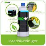 BIOHY Intensivreiniger (10 litre) Concentré de solvant pour saletés et graisses, nettoyant de base, nettoyant industriel, intensif et durable pour l'extérieur et l'intérieur, bio professionnel de la marque BIOHY image 1 produit