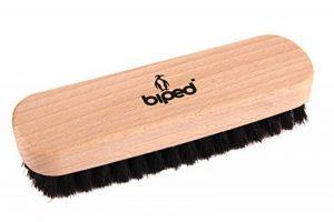 biped Brosse à chaussures en bois de hêtre avec des soies naturelles – pour le nettoyage ou le poli – z2345 de la marque biped image 0 produit