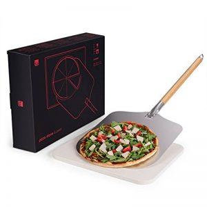 Blumtal Pierre A Pizza - Kit Pelle A Pizza Et Pierre Refractaire, Barbecue de la marque Blumtal image 0 produit