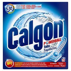Calgon Pastilles Anticalcaire Nettoyant Lave-Linge 3en1 - 75 Tablettes de la marque Calgon image 0 produit