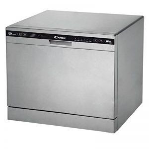 Candy CDCP 8/E-S Autonome 8places A+ lave-vaisselle - Lave-vaisselles (Autonome, Argent, Compact, Noir, Argent, boutons, Condensation) de la marque Candy image 0 produit