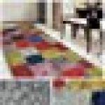 casa pura Tapis Vintage Tapis Multicolore | Polyamide résistant | Entretien Facile | 18 Tailles | Monsano, 80x200cm de la marque casa-pura image 1 produit