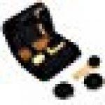Cavose 8 Pcs Kit d'entretien des chaussures avec étui en cuir, Kit de cirage pour chaussures en cuir de haute qualité Premium Portable Kit de voyage Brosse à chaussures de la marque Cavose image 1 produit