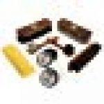 Chaussure Soin Pin Boîte -Milano- Premium 100% Crin de cheval Brosses et TRG chaussure Crème Professionnel chaussure Brillant Kit - FSC 100% de la marque Langlauf image 1 produit
