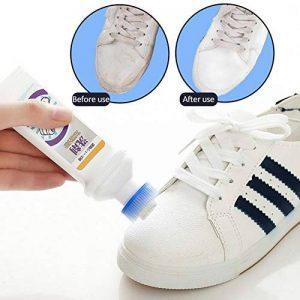 Chaussures universelles 100ML blanches,chaussures de basket-ball conviviales,sandales, nettoyant pour taches à la maison Safe,agent de baskets, agent de blanchiment pour chaussures de sport, nettoyage de la marque Hook.s. image 0 produit