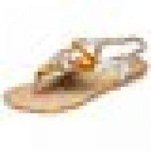 Couleur Unie Sandales Sandales à Chevrons Sandales Plates Confortables Sandales de la marque BiCophy image 0 produit