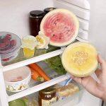 Couvercle Silicone Alimentaire,longzon [14 pcs] eco Couvercle Silicone Extensible, Film etirable Alimentaire reutilisable,Universel pour Micro Ondes Four, saladier, rangement frigo, LFGB, FDA,sans BPA de la marque longzon image 4 produit