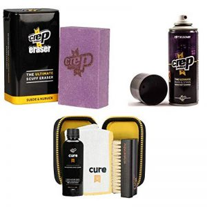 Crep Protect Suede and Nubuck Shoe Care Kit Includes the Rain & Stain Resistant Barrier Spray, Cure, and Eraser. de la marque Crep-Protect image 0 produit