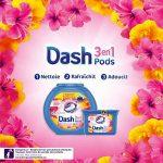 Dash 3en1 Pods Fleurs De Lotus Et Lys Lessive en Capsules - 87 lavages (Lot de 3 x27 doses) de la marque Dash image 1 produit