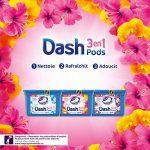 Dash 3en1 Pods Fleurs De Lotus Et Lys Lessive en Capsules - 87 lavages (Lot de 3 x27 doses) de la marque Dash image 3 produit