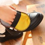 Dee Plus kit d'entretien de la chaussure Kit pour Cirage de Chaussures avec étui élégant en cuir PU, Kit pour cirage de chaussures de voyage 9 pièces de la marque Dee+Plus image 4 produit