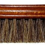 DELARA Grande brosse à lustrer en bois vernis, crin de cheval souple gris argenté - fabriqué en Allemagne de la marque DELARA image 1 produit