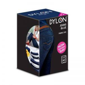 Dylon Machine Colorant 350g Bleu Jeans, Sel Inclus! Remise en Vrac Disponible (1) de la marque Dylon image 0 produit