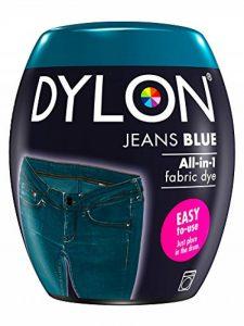 Dylon Teinture Textile pour Machine à Laver, Bleu Jean, 8.5 x 8.5 x 9.9 cm de la marque Dylon image 0 produit