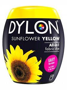 Dylon Teinture Textile pour Machine à Laver, Jaune Tournesol, 8.5 x 8.5 x 9.9 cm de la marque Dylon image 0 produit