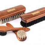 Ensemble de brosses à chaussures brillantes Classic Edition - Brosse de crins fabriqués en bois de hêtre z2487 de la marque Die-Schuhanzieher image 1 produit