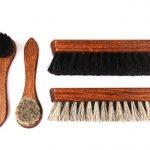 Ensemble de brosses à chaussures brillantes Classic Edition - Brosse de crins fabriqués en bois de hêtre z2487 de la marque Die-Schuhanzieher image 2 produit