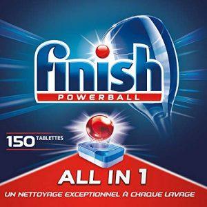 Finish Pastilles Lave-Vaisselle Powerball All in One Max - 150 Tablettes Lave-Vaisselle de la marque Finish image 0 produit