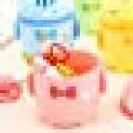 GFQH Poubelle De Table en Plastique Solide Mini Poubelle,Petit Sac De Rangement en Plastique À La Mode pour La Maison avec Un Mini Flip De Bureau pour Animaux, Mignon pour La Famille, Rose de la marque GFQH image 3 produit