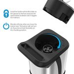 Homgeek Mini Blender 350W, Blender smoothie et Milk-shake avec 2 Bouteilles Portables de 600ml, 2 Couvercles sans BPA et Corps en Inox de la marque homgeek image 3 produit
