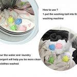 iSuperb boule de lavage Balle à Billes machine ecologique Colorée Solide Ensemble de 6 de la marque iSuperb image 3 produit