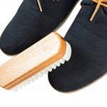 Kaps Brosse en Bois et Caoutchouc-Crêpe pour Nubuck et Daim, Brosse pour Chaussures, Sacs et Accessoires en Cuir de la marque Kaps image 3 produit