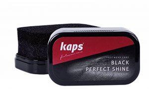Kaps Perfect Shine, Éponge de Cirage à Chaussures pour Brillance Instantanée, Chaussures Sacs & Autres Produits en Cuir, 3 Couleurs de la marque Kaps image 0 produit