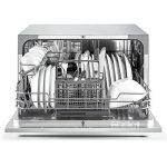 Klarstein Amazonia 6 - Lave-vaisselle de table, A+,1380W, 6 couverts, 49 dB,argent de la marque KLARSTEIN image 1 produit