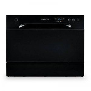 Klarstein Amazonia 6 - Lave-vaisselle de table, A+,1380W, 6 couverts, 49 dB,noir de la marque KLARSTEIN image 0 produit