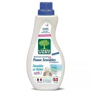 L'ARBRE VERT Adoucissant Peaux sensibles - Famille et bebe aussi - 800 ml de la marque L'Arbre Vert image 0 produit