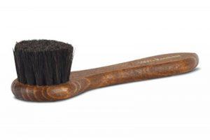 Langer & Messmer brosse crème 100% crin pour l'application de cirage et de cire aux chaussures - la brosse à chaussures pour le soin professionnel de la marque Langer-Messmer-EXKLUSIVE-SCHUHMODE-Heidelberg image 0 produit