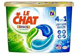 Le Chat Discs L'expert - Lessive en Capsules - 38 Lavages de la marque Le-Chat image 0 produit