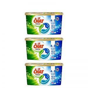 Le Chat Discs l'Expert Lessives Capsules 75 Doses - Lot de 3 de la marque Le-Chat image 0 produit