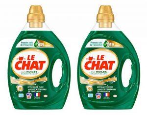 Le Chat Huiles Essentielles - Lessive Liquide - Lot de 2 x 1,95L - 78 Lavages de la marque Le-Chat image 0 produit