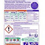 Le Chat Sensitive 0% - Lessive Liquide Hypoallergénique - Sans Parfum - 80 Lavages (Lot de 2 x 2L) de la marque Le-Chat image 1 produit