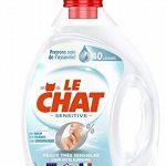Le Chat Sensitive 0% - Lessive Liquide Hypoallergénique - Sans Parfum - 80 Lavages (Lot de 2 x 2L) de la marque Le-Chat image 2 produit