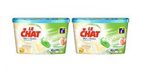 Le Chat Sensitive Duo-Bulles - Lessive en capsules - 18 Lavages (2 x 18 Lavages) , Lot de 2 de la marque Le-Chat image 0 produit