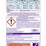 Le Chat Sensitive - Lessive Liquide - 100 Lavages (4 x 1.25L) de la marque Le-Chat image 3 produit