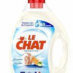 Le Chat Sensitive - Lessive Liquide - Lait d'amande douce et Marseille - 80 Lavages (Lot de 2 x 2L) de la marque Le-Chat image 2 produit
