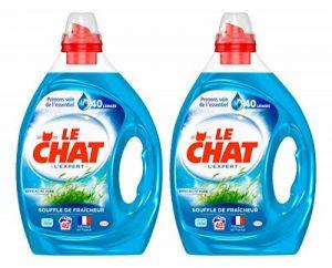 Le Chat Souffle de Fraîcheur - Lessive Liquide - Lot de 2 x 2L - 80 Lavages de la marque Le-Chat image 0 produit