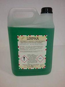 Linpha 5L avec 4Jerricans pour boîte–Lessive Liquide Concentré pour assiettes et vaisselle à la main (avec certification HACCP) de la marque ESSEENNE image 0 produit
