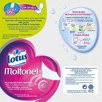 Lotus Moltonel - Papier toilette 3 épaisseurs Rose - 18 rouleaux de la marque Lotus image 1 produit