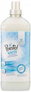 Marque Amazon- Presto! Assouplissant concentré blanc, 360 Lavages (6 packs de 60 lavages) de la marque Presto image 0 produit